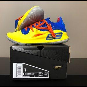 UA Curry 4 Low NBA JAM Basketball Shoes Sz 7